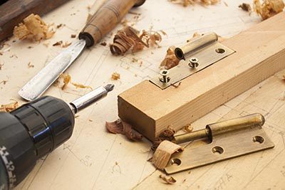 Woodwork and Carpentry Tools.